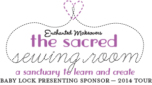 The 2014 Sacred Sewing Room Tour will reach five shelters in five U.S. cities.