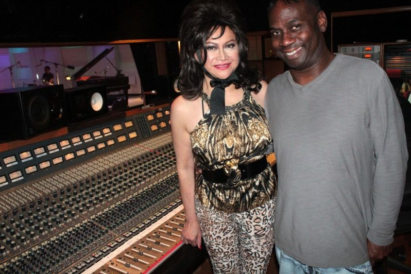 Singer Lourdes Duque Baron and Record Producer And