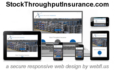 Stock Throughput Insurance | Secure Responsive Web Design