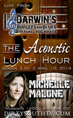 Acoustic Lunch Hour Season 3 Episode 2 Michelle Malone