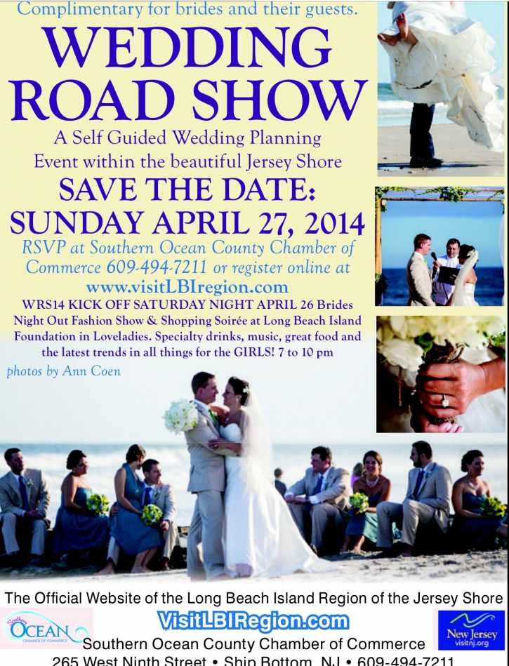 Long Beach Island Destination Wedding Road Show