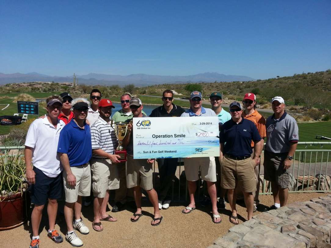 600 Global At Charity Golf Tournament