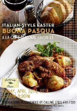 Italian-Style Easter at Olivio