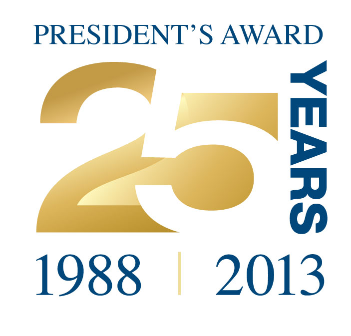 AH Ford Wins 25 Consecutive President's Awards!