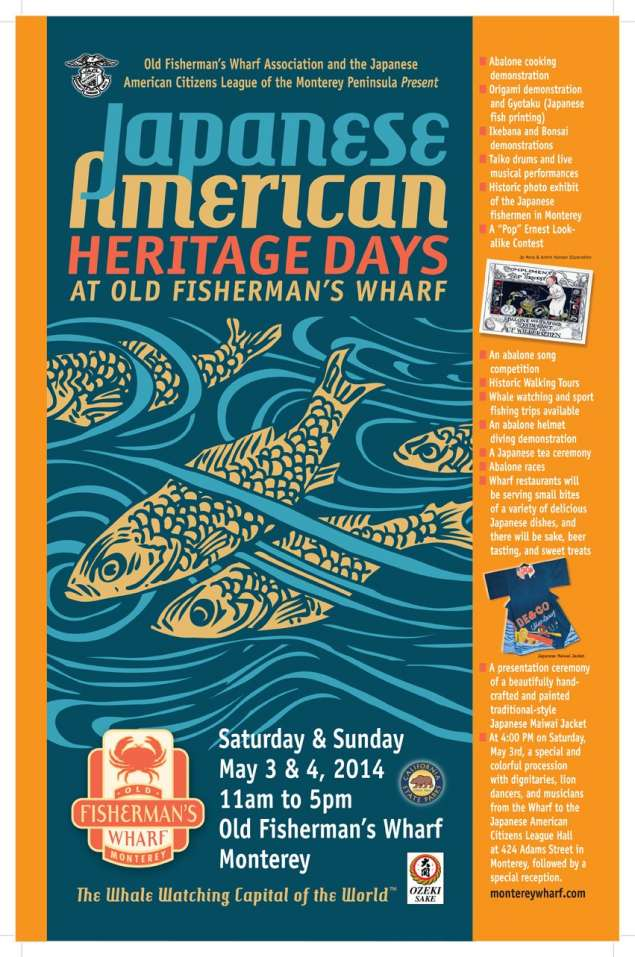 Japanese American Heritage Days Poster