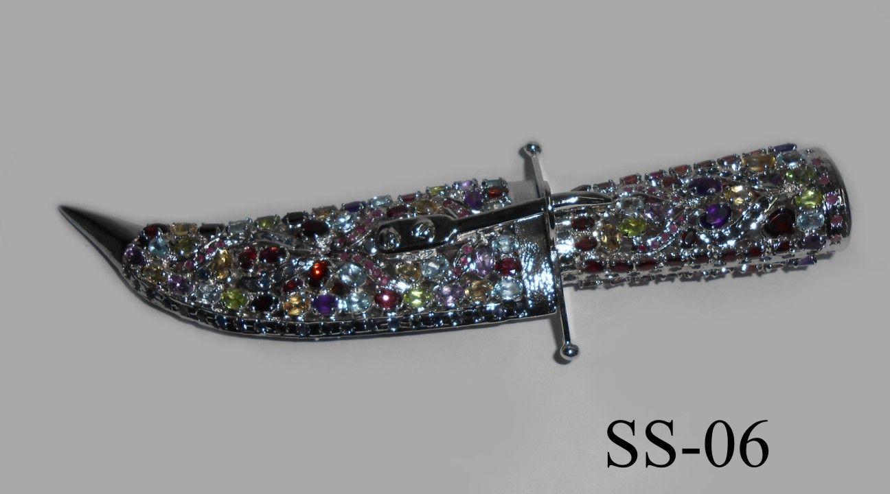sterling silver daggers