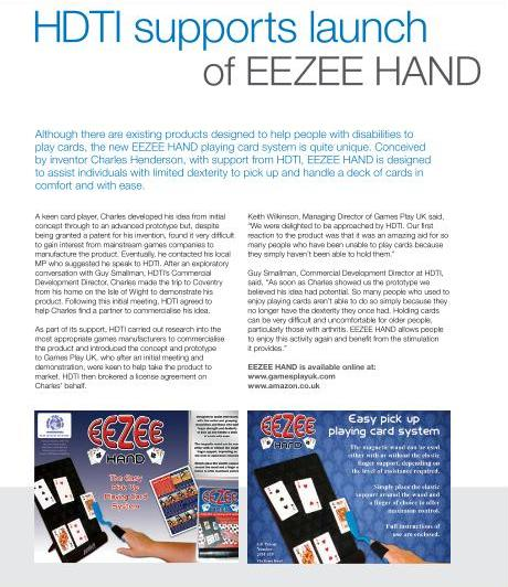 EEZEE HAND LAUNCH FROM GAMES PLAY UK!!