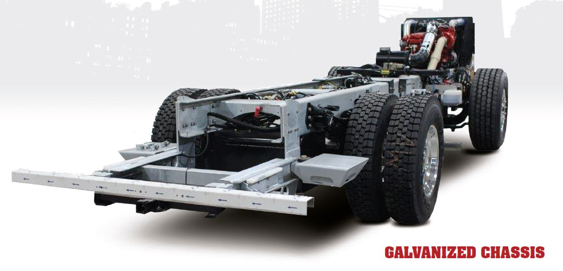HME, Inc. Galvanized Chassis