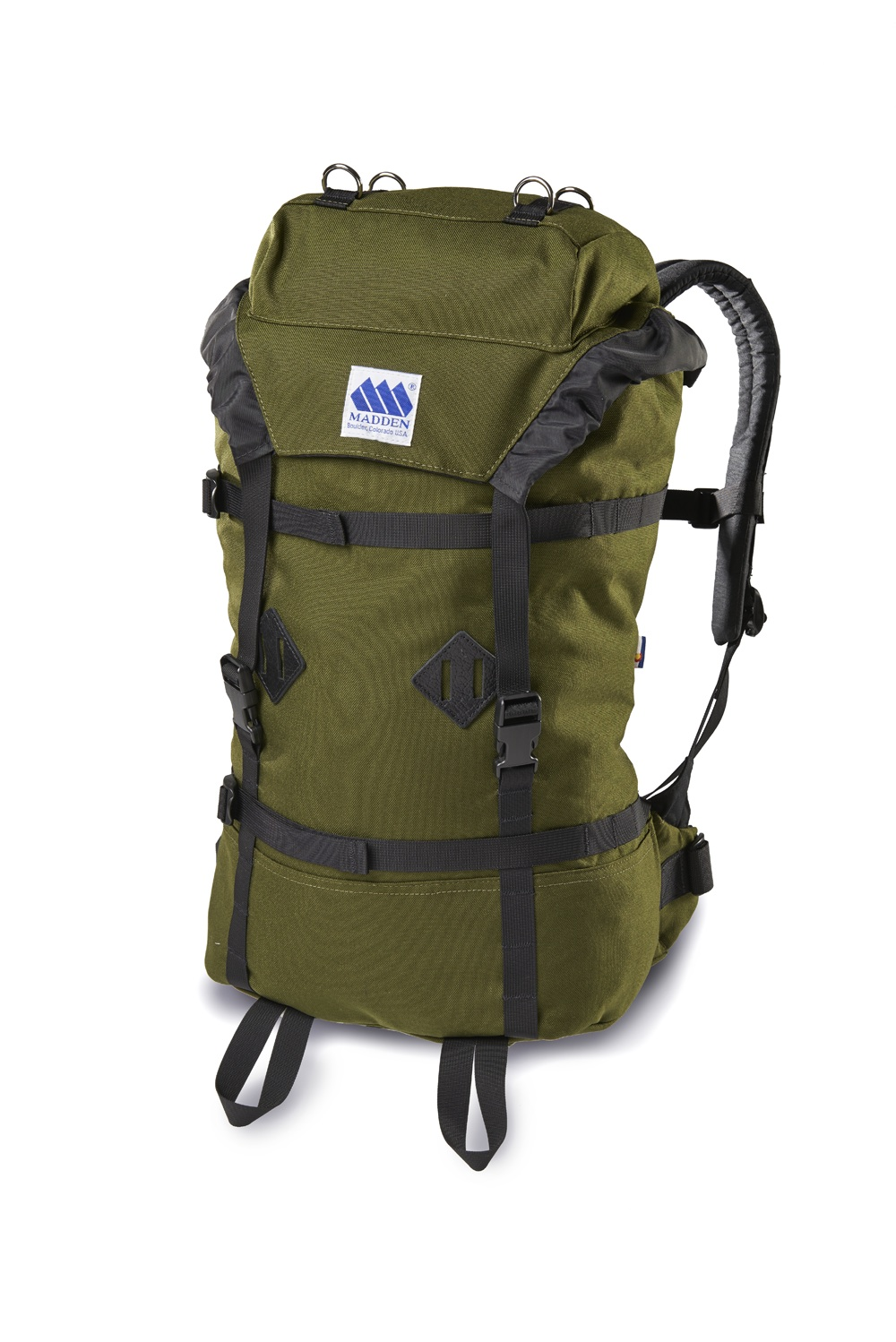 Penguin: Contoured, top-loading soft pack.  For light mountaineering.