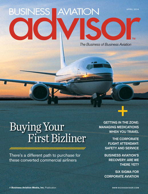 Business Aviation Advisor magazine – The Business of Business Aviation