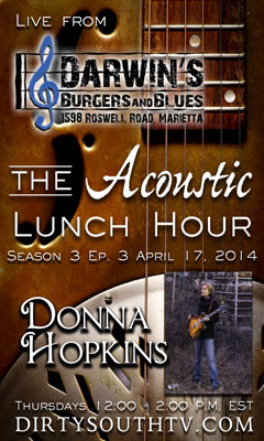 Acoustic Lunch Hour-Season 3-Episode 3-Donna-Hopkins
