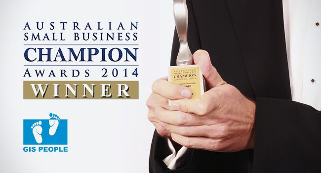 GIS People - Australian Small Business Champion