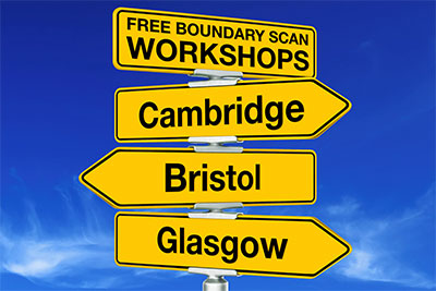 Free hands-on boundary scan workshops held by XJTAG across the UK