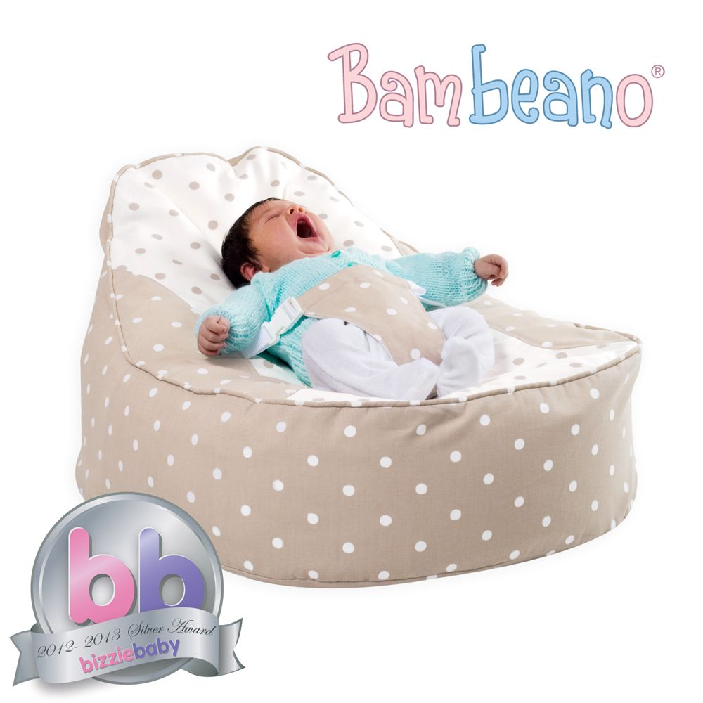 Bambeano Baby Bean Bag in natural