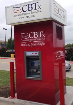 Commercial Bank of TX ATM at a Murphy USA gas station