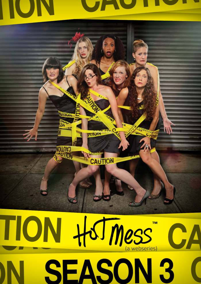 The cast of Hot Mess - season 3