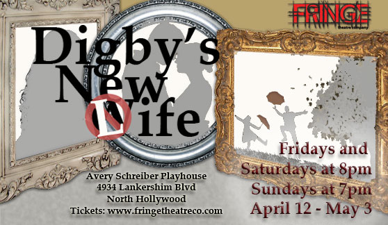 """Digby's New Wife"" premieres at Avery Schreiber Playhouse April 12-May 3"