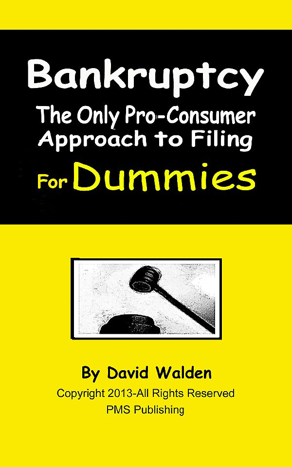 BANKRUPTCY-The Only Pro-Consumer Approach-Two Powerful Books-Now One Low Price!