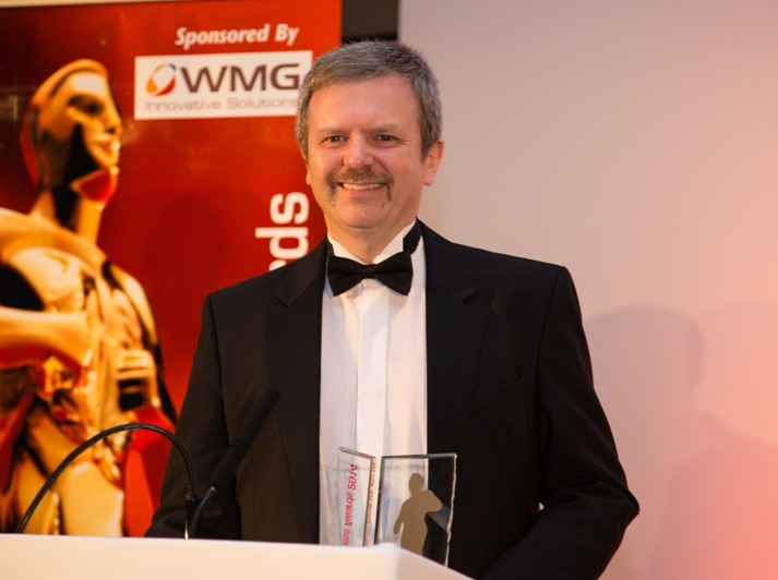 Midlands Exporter of the Year - Ultraseal's MD Gary Lloyd picks up award