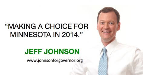 Jeff Johnson for MN Governor mixes it up with Ron and Don
