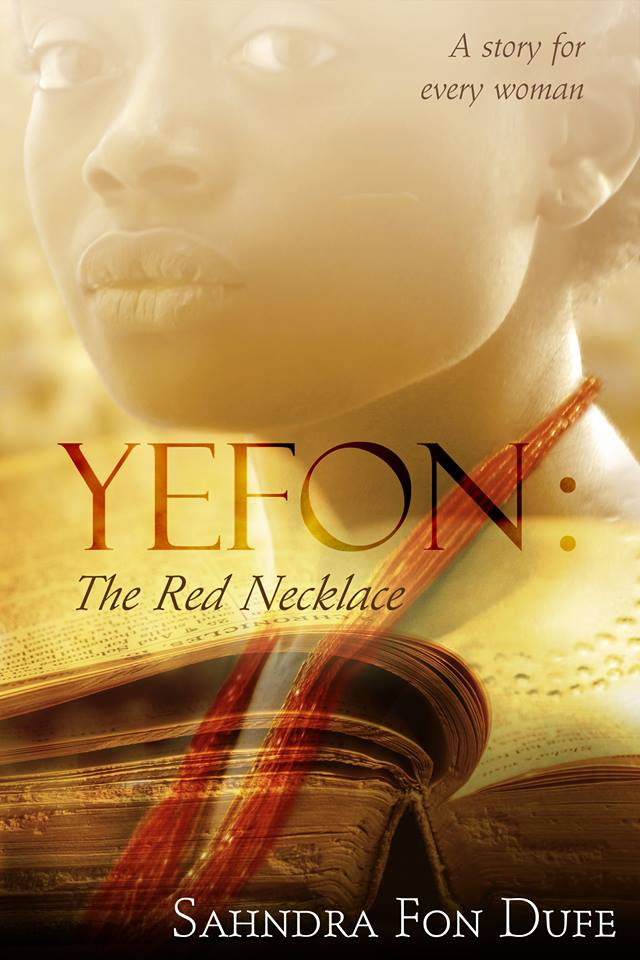 YEFON The Red Necklace book cover