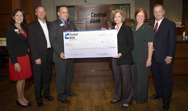CentralBank_Presents YMCA with Check