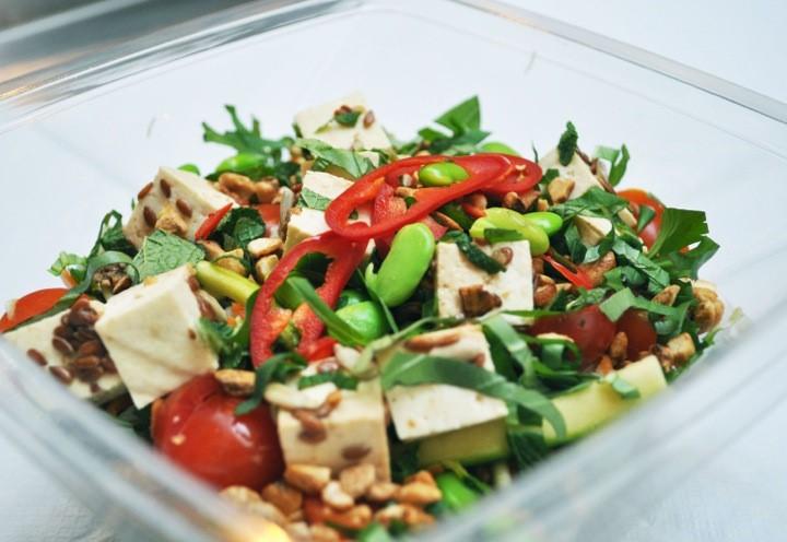 Chop'd Tofu Salad
