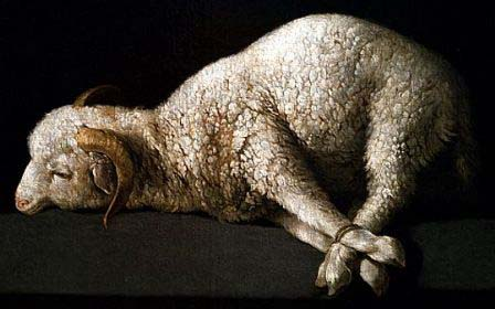 Like a lamb that is led to the slaughter, he opened not his mouth.