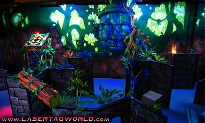 Creative Works designs dynamic custom laser tag arenas
