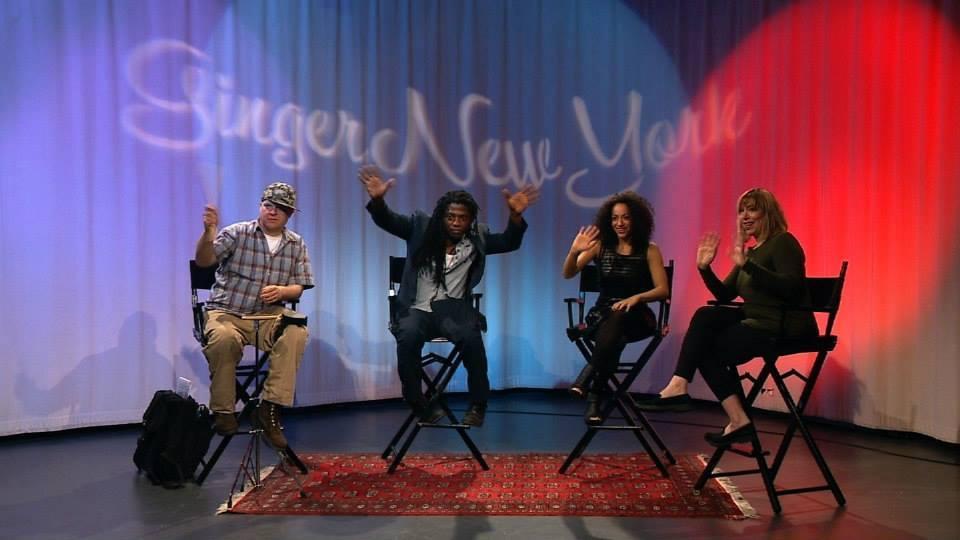 Swiss Chris, Malik Work, Princess Lockerooo and Host Ginger Broderick