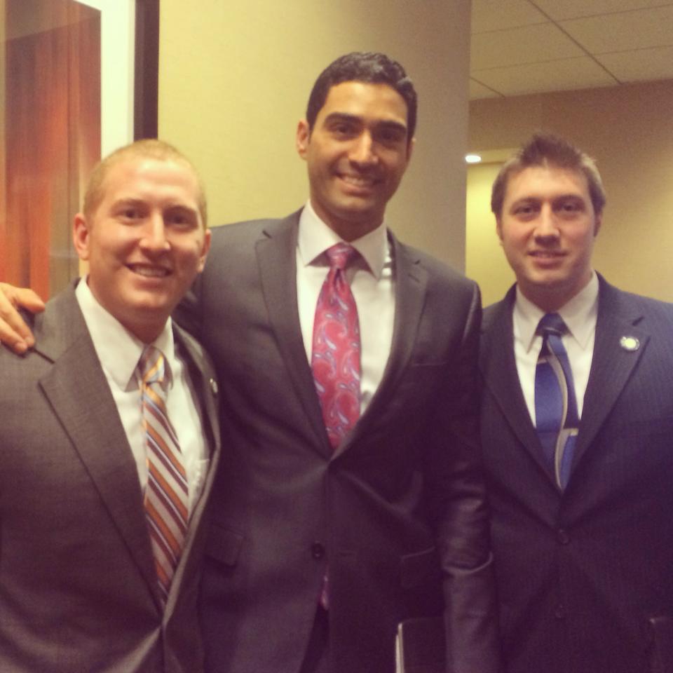 Evan, George and John at the Denver Leadership Meeting