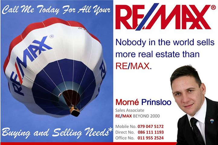 Morne Prinsloo - Real Estate Agent in Little Falls Roodepoort