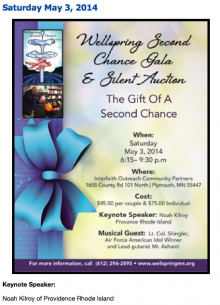 Wellspring Second Chance Gala and Silent Auction