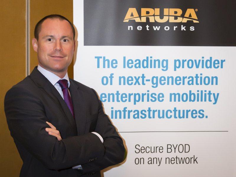 Graeme Kane of Aruba Networks