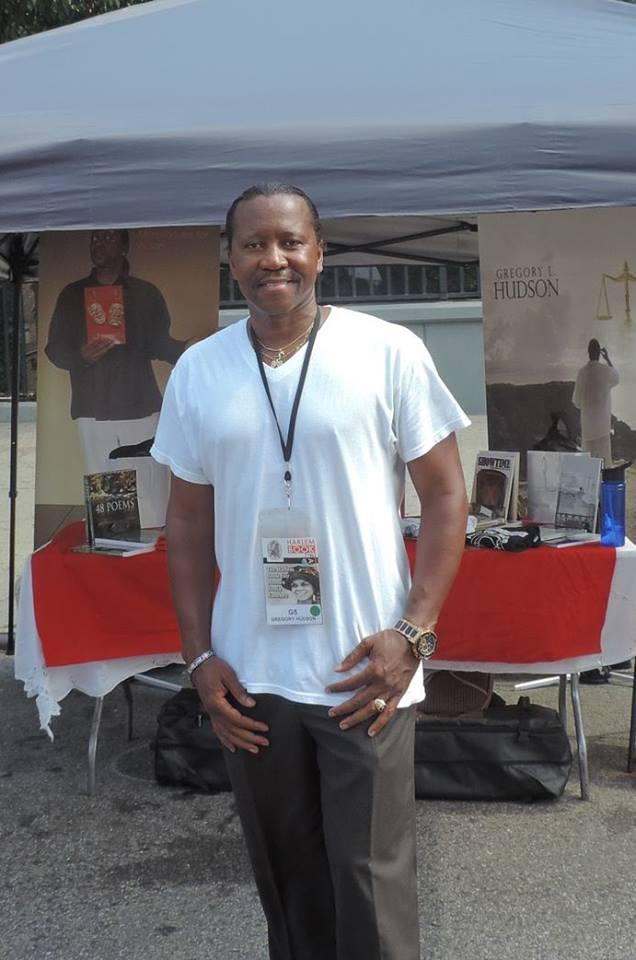 Harlem Book Fair Greg