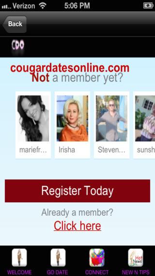Cougar Dates Online App on App Store iTunes.