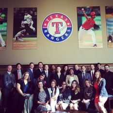 Connect DFW Team - Texas Rangers Orientation