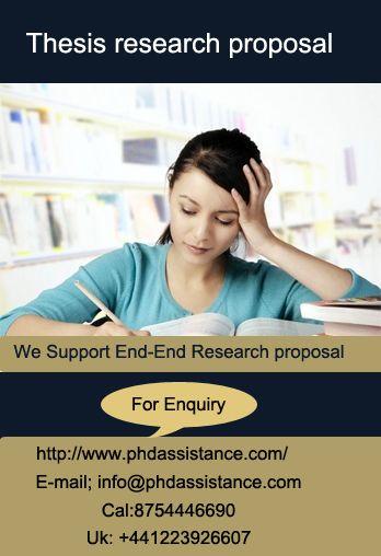 thsis proposal