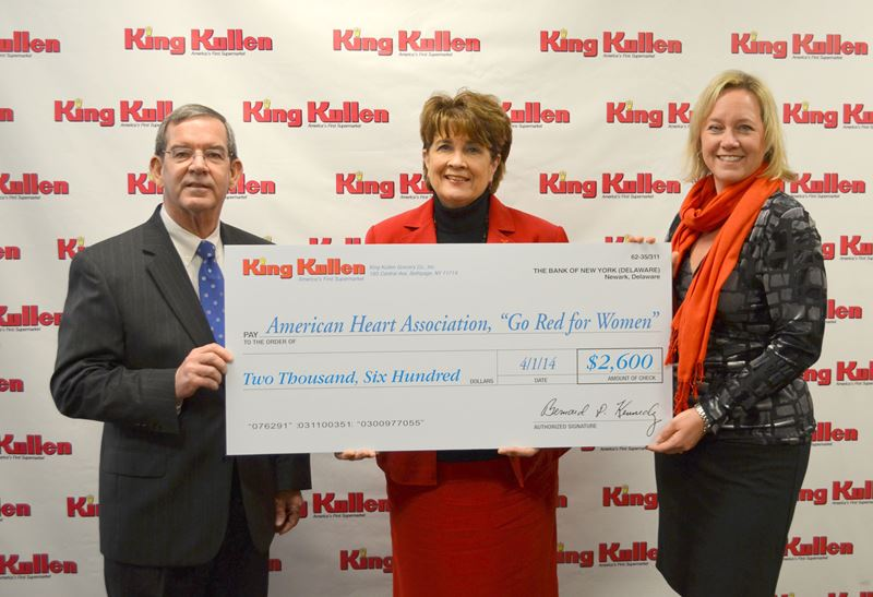 King Kullen Grocery Supports American Heart Association