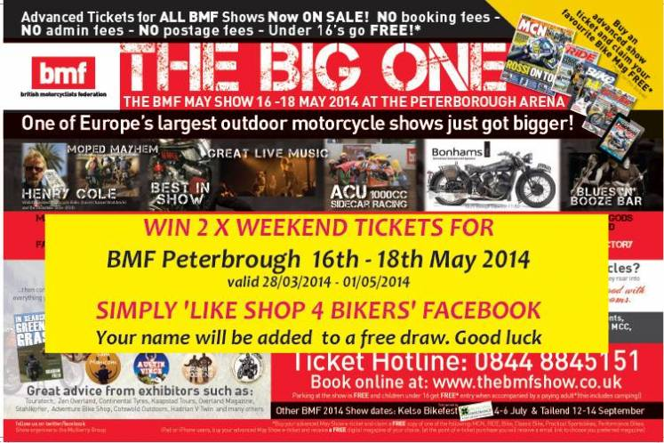Shop4bikers BMF May 2014 competition