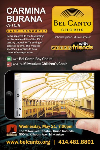 Bel Canto Chorus and Boy Choirs Present Carmina Burana
