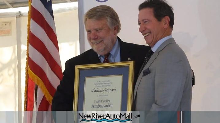 Warner Peacock Honored During Industry Appreciation Week