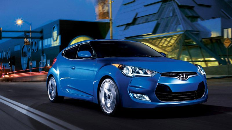 2014 Hyundai Veloster Awarded Top Safety Rating By The