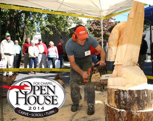 Visitors will enjoy live demonstrations, attend woodworking classes, and more