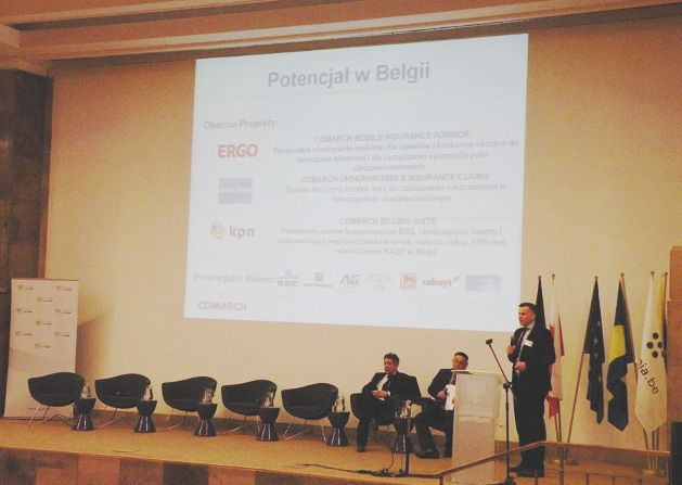 Comarch at Polish-Belgian Forum on Investments