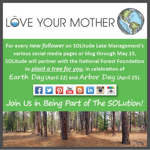 SOLitude Lake Management's Earth Day 2014 Social Media Campaign