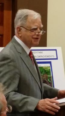 Carson Addresses Sykesville Town Council