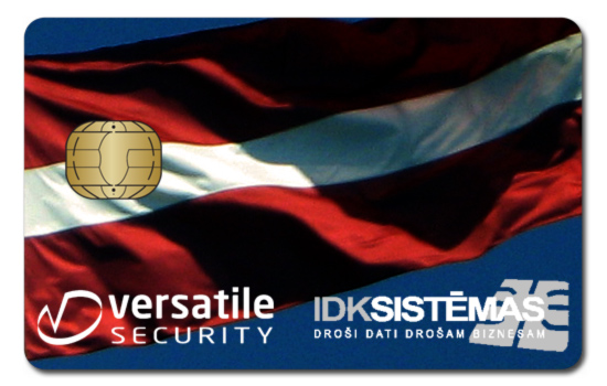 Versatile Security IDK Sistems Smart Card