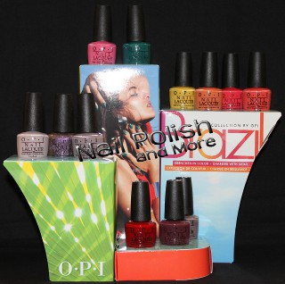 The OPI Brazil Collection, one of three hot new OPI nail polish sets.