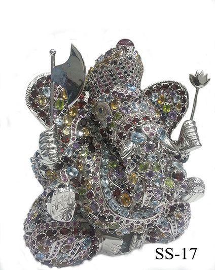 sterling-silver-gem-ganesh-statue